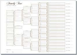 6 generation pedigree chart white templates pinterest