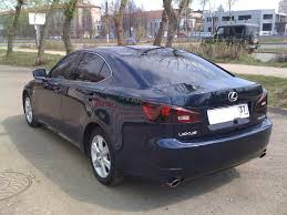 used lexus is 250 2006 lexus is250 for sale 2 5 gasoline fr or rr automatic for sale