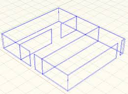 tutorial autocad line autocad tutorial draw 3d walls with polysolids autocad tips blog