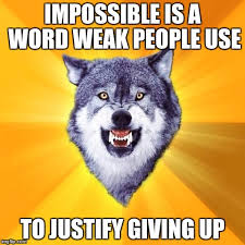 Courage Wolf Memes - courage wolf memes imgflip