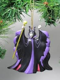 disney s sleeping maleficent and ornament set 2