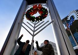 hanukkah thanksgiving same day hanukkah and christmas eve coincide for first time in nearly 40