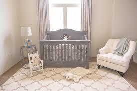 soft neutral nursery blackout curtains shabby chic style