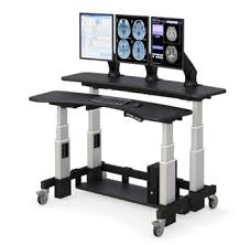 dual tier height adjustable standing desk afcindustries com