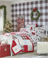 tartan holiday bedding christmas bedding