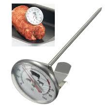 thermometre sonde cuisine inox 0 100 thermomètre sonde à bbq viande rôtie lait cuisson