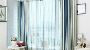 Blue Striped Curtains Blue Curtains For Bedroom Lively Blue Room Darkening Striped