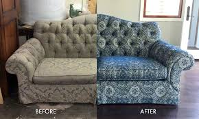 New Upholstery For Sofa The Art Of Recovering Old Furniture Luz Custom Curtains