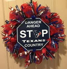 Abc Garage Doors Houston by Houston Texans Football Wreath Texans Football Football Wreath