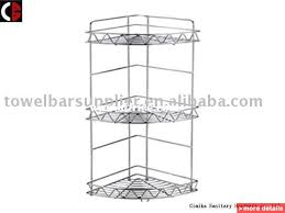 Stainless Steel Bathroom Shelving Bathroom Corner Shelf Bizrice Collection In Stainless Steel