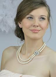 wedding dress necklace necklace to go with dress weddingbee