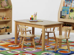 children u0027s wood table and chairs