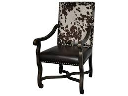 crestview collection accent furniture mesquite ranch leather and crestview collection accent furniture mesquite ranch leather and faux cowhide arm chair great american home store exposed wood chairs
