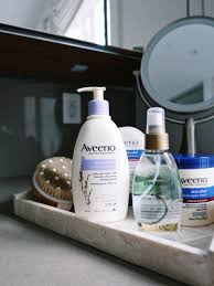 how i take care of my skin with aveeno ogx and ayurveda