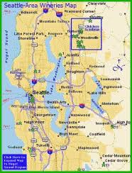seattle map location seattle area wineries washington wines wineries
