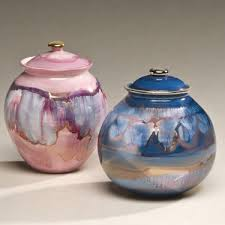 pet urn corona ceramic pet urn