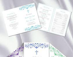 Booklet Wedding Programs Templates Catholic Wedding Programs Stunning Receipt Book