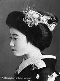 Geisha Hairstyles Considered The Most Cute And Childish Of Maiko Hairstyles