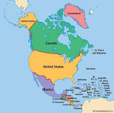 on a map america continent map pacq co