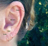 cartilage hoops thin gold hoops shopstyle