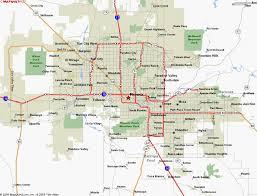 map of az map of arizona cities map of usa states