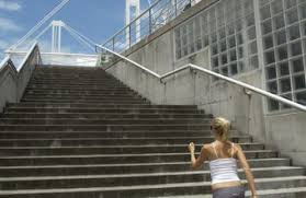 does walking up and down stairs for 20 minutes a day help chron com