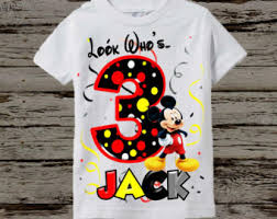 mickey mouse birthday shirt mickey mouse birthday shirt raglan available