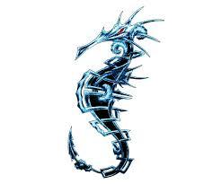 megan seahorse tattoo design