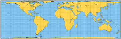 map of ta area map projections perspective cylindrical projections