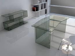 Kidney Shaped Writing Desk Furniture Small Glass Desk L Writing Large Modern Computer Top