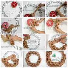 christmas burlap wreaths easy burlap wreath christmas card holder faithfully free