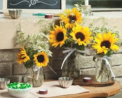 sunflower centerpiece youaremysunshine sunflower centerpiece it sbyu