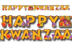 Kwanzaa Decorations Kwanzaa Party Supplies And Free Name Cards For The Table