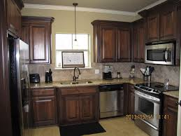 wood stain kitchen cabinets excellent stained kitchen cabinets eizw info