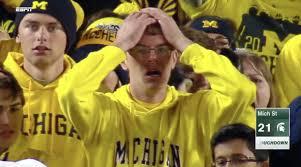 Michigan State Memes - michigan state beats michigan on punter s fumble on last play of