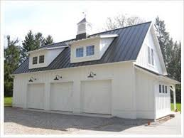 garage barn plans post frame construction ohio hochstetler buildings inc featured