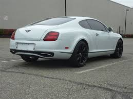 bentley continental 2010 2010 bentley continental gt supersports corsa motors