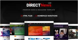 26 best magazine html website templates 2017