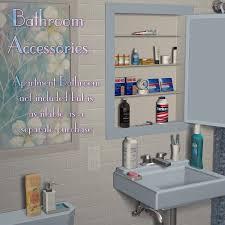 Bathroom Set Bathroom Accessories Set 3d Models Richabri