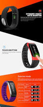 sma band dynamic heart rate monitoring smart wristband 17 41