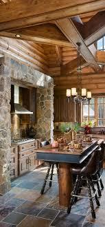 log cabin kitchen ideas best 25 log cabin kitchens ideas on rustic cabin