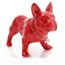 Statue For Home Decoration Ceramic Bulldog Statue Home Decor Crafts Room