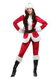 santa costume plus size sweet santa costume for women