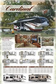 Forest River Cardinal Floor Plans Fifth Wheel Forest Rv Cardinal Travel Trailers Sherwood Rv New And Used Rv S