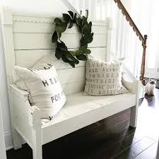 rustic farmhouse bench see this instagram photo by
