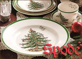 spode trees happy holidays