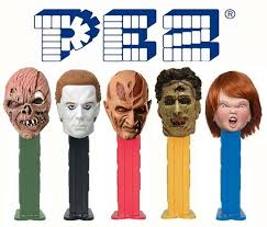 where to buy pez dispensers artist specializes in horror themed pez dispensers