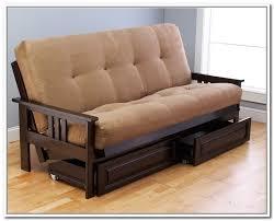 futon with storage drawers bonners furniture