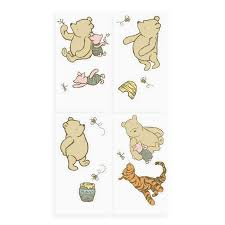 classic winnie the pooh wall stickers home design awesome classic winnie the pooh wall stickers