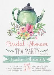 bridal tea party tea party bridal shower invitation templates party xyz